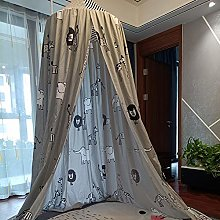 ESGT Hanging Kids Baby Bedding Dome Bed Curtain
