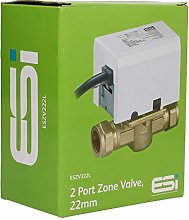 ESI 22mm 2 Port Motorised Zone Valve**GKS Plumbing