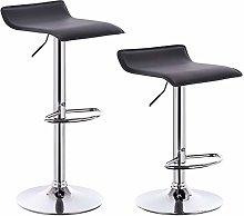 eSituro Bar Stools Black Barstools Set of 2