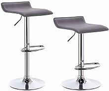eSituro Bar Stools Grey Barstools Set of 2