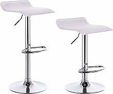 eSituro Bar Stools White Barstools Set of 2