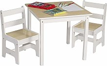 eSituro Children Table and Chair Sets Wooden Kids