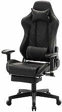 eSituro Gaming Chair with Footrest Ergonomic