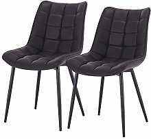 eSituro Modern Dining Chairs Set of 2 Comfy