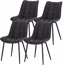 eSituro Modern Dining Chairs Set of 4 Comfy