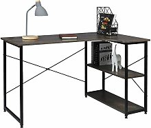eSituro SCD0102 L-shaped Computer Desk Corner PC