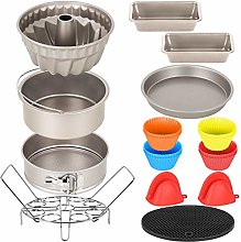 Esjay Cake Baking Tin Set, Accessories Compatible