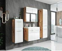 Esmai 4 Piece Bathroom Furniture Suite Mercury Row