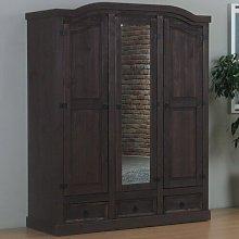Esme 3 Door Wardrobe Union Rustic
