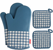 Esonmus Heat Resistant Silicone Oven-gloves Oven