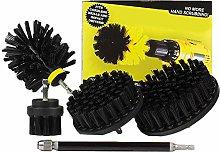 Esplic Drill Brush Scrub Kit - 5 PCS Drill Powered