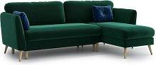 Esquina Universal Reversible Sleeper Corner Sofa