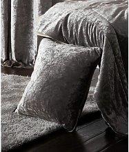 Esquire Silver Cushion Cover 43 x 43cm Bed Sofa