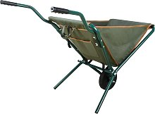 Esschert Design Folding Wheelbarrow Green GT138