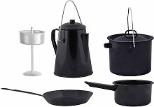 Esschert Design Four Piece Outdoor Cooking Set