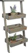 Esschert Design Lean To Stepped Plant Ladder