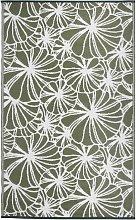 Esschert Design Outdoor Rug 241x152 cm Floral