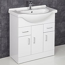 ESSENCE 750mm Bathroom Vanity Unit Storage Cabinet