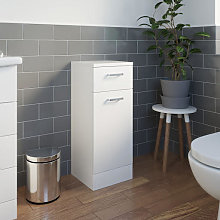 Essence White Gloss 300mm Laundry Unit