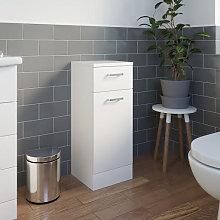 Essence White Gloss 330mm Laundry Unit