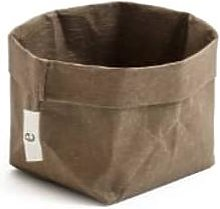 Essent'ial - Coffee Brown Bread Basket Small -
