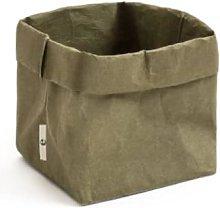 Essent'ial - Dark Green Bread Basket Medium -