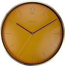 Essential 34cm Silent Wall Clock NeXtime Colour: