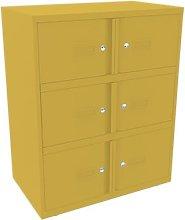 Essential Lodge Office Locker Anthracite 6 Door