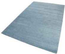 Essentials 4223 13 Mid Blue Rectangle Plain/Nearly