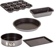 Essentials 5 Piece Non-Stick Bakeware Set Symple