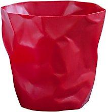 Essey mini bin. Waste basket, polyethylene, red,
