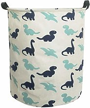 ESSME Laundry Hamper,Collapsible Canvas Waterproof