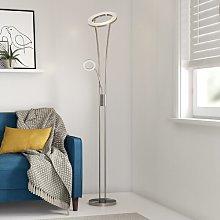 Ester 180cm LED Uplighter Floor Lamp Zipcode Design