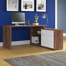 Estevez Corner Desk Ebern Designs Colour: