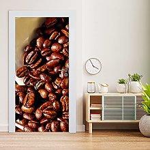Estika Door Wallpaper for Kitchen, Self-Adhesive