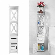 Estink- Tall Free Standing Bathroom Storage