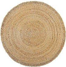 Eta Jute Natural Circle 150cm Diameter