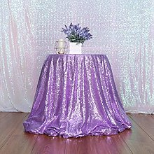 Eternal Beauty 127cm (50 inch) Round Sequin