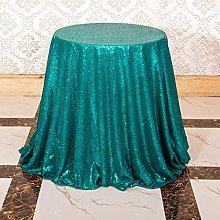 Eternal Beauty 183cm (72 inch) Round Sequin