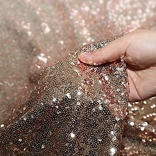 Eternal Beauty 2 Yards 4 Feet Sequin Fabric, by