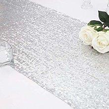 Eternal Beauty 30x274 cm Silver Sequin