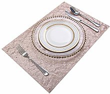 Eternal Beauty 30x46cm Sequin Placemats,Sparkle