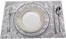 Eternal Beauty 30x46cm Sequin Placemats,Sparkle