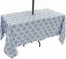 "Eternal Beauty 60 x 120"" Rectangle Tablecloth"