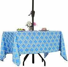Eternal Beauty Polyester Outdoor Tablecloth