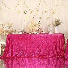 Eternal Beauty Sequin Tablecloth, 50x80 Rectangle