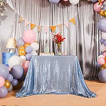 Eternal Beauty Sequin Tablecloths Rectangle Baby