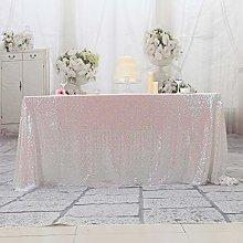 Eternal Beauty Sequin Tablecloths Rectangle