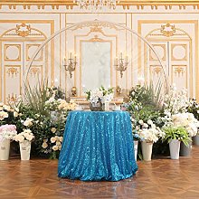 Eternal Beauty Sparkly Round Sequin Tablecloths
