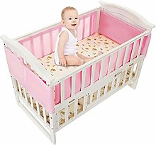 Eternitry Baby Crib Bumper Toddle Nursery Bedding